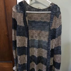 Anthropologie medium long cardigan sweater